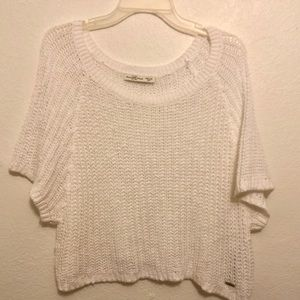 Abercrombie and Fitch Winter White Sweater